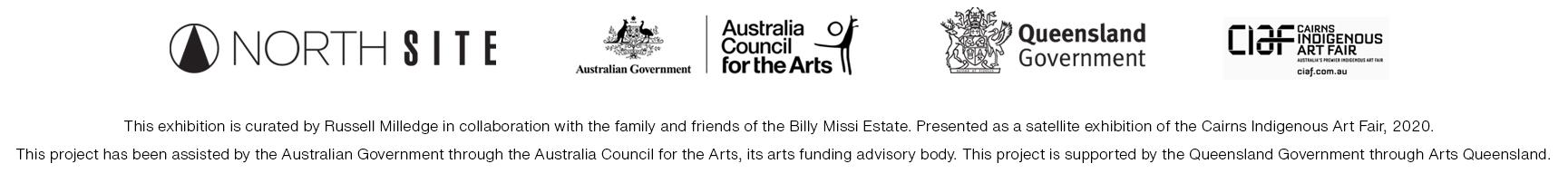Australia Council Arts Queensland logos