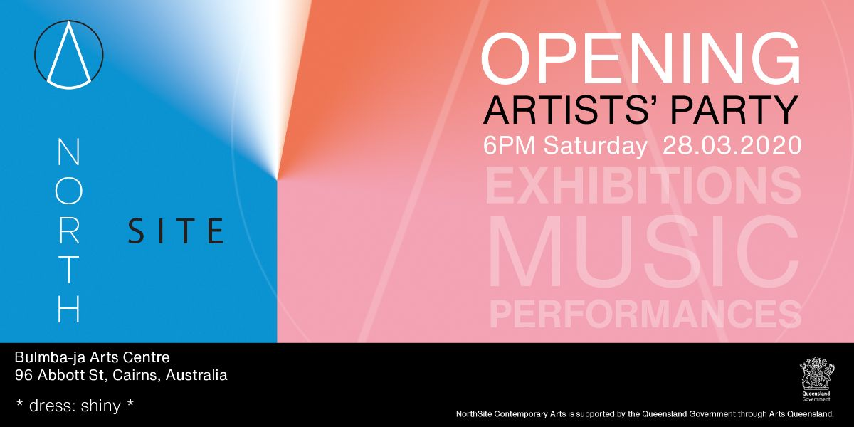 NorthSite Opening Artists Party Invite
